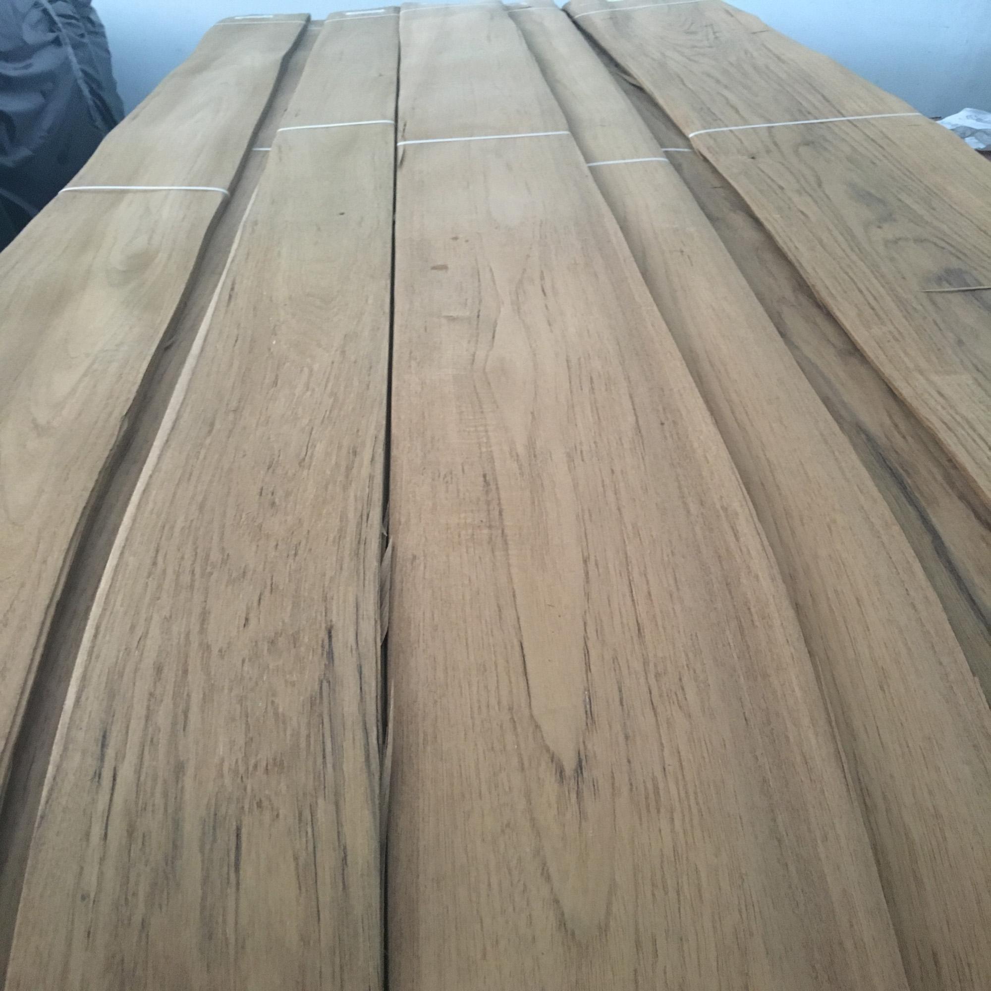 Crown Cut Burma Teak Wood Veneer
